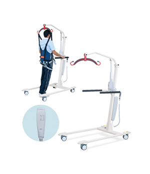電動歩行訓練リフト